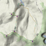 PMG Walk 4 - Route Map 21.8kms - 5hrs 8mins