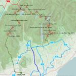 Walk 19 - Route Map 37.9kms - 10hr 32mins