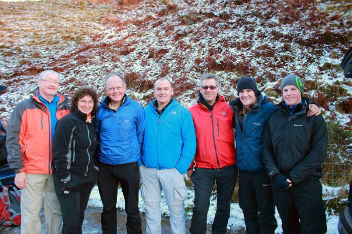 The Mountain Views.ie gang! Photo by: Adrian McGlynn