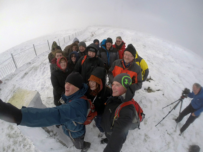"Summit ""Group"" Photo. Photo by: Philip Byrne - GoPro"
